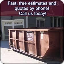 R & R Roll off dumpster