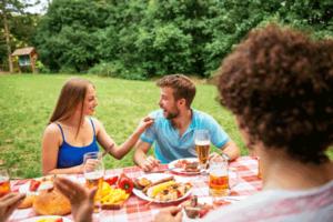 backyard get-together in Acworth, GA